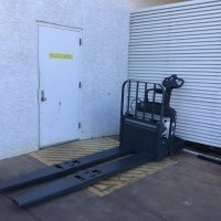 2015 Electric Jungheinrich ECR327 Electric Walkie Rider Pallet Jack