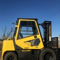 LP Gas Daewoo G30P-3 Pneumatic Tire 4 Wheel Sit Down