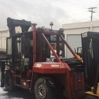 2001 Diesel Taylor THD200KS Pneumatic Tire 4 Wheel Sit Down
