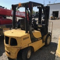 2011 Yale GDP060 Pneumatic Tire 4 Wheel Sit Down