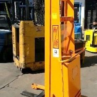 Electric Rol-Lift 1500 Electric Walkie Straddle Stacker