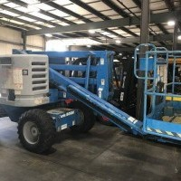 1998 Dual Fuel Genie Z4522 Articulated Boom