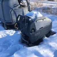 2012 Nilfisk Advance SC750 Walk Behind Scrubber