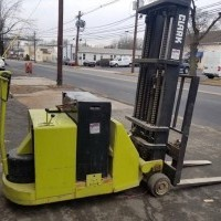 1990 Electric Clark ST30 Electric Walkie Counterbalanced Stacker