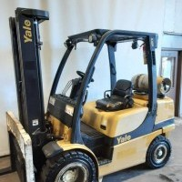 2010 Yale GLP060VX Pneumatic Tire 4 Wheel Sit Down