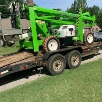 2017 Diesel NiftyLift SD50 Trailer Mounted
