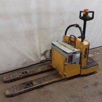2008 Electric Yale MPE060F Electric Walkie Rider Pallet Jack