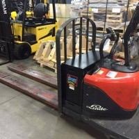2009 Electric Linde EWR80 Electric Walkie Rider Pallet Jack
