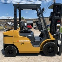 2012 LP Gas Mitsubishi FG25N Pneumatic Tire 4 Wheel Sit Down