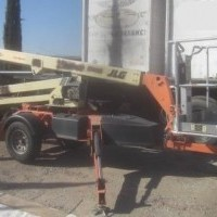 2011 Electric JLG T350 Trailer Mounted