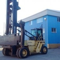 1999 Diesel Hyster H450H-ECH Container Handlers Loaded Empty