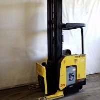 2007 Electric Hyster N35ZR Electric Narrow Aisle Single Reach