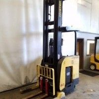 2007 Electric Hyster N40ZR Electric Narrow Aisle Single Reach