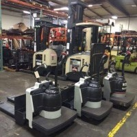 2011 Electric TCM ER60 Electric Walkie Rider Pallet Jack