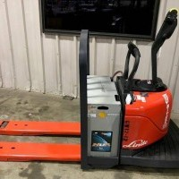 2012 Electric Linde EWR60-02 Electric Walkie Rider Pallet Jack