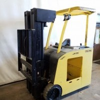 2012 Electric Hyster E40HSD Electric Stand Up End Control Docker