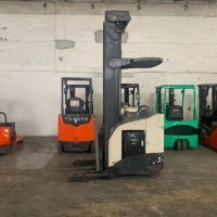 2007 Electric Crown RR5220-45 Electric Narrow Aisle Single Reach