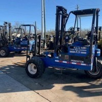 2012 LP Gas Princeton PBX Truck Mounted Forklift Sod Loaders