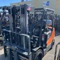 2015 LP Gas Doosan G30E Pneumatic Tire 4 Wheel Sit Down