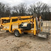 2012 Electric Haulotte Group 5533A Trailer Mounted