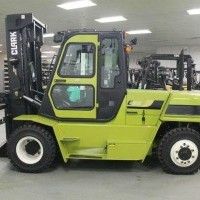 2019 Clark C80D Pneumatic Tire 4 Wheel Sit Down