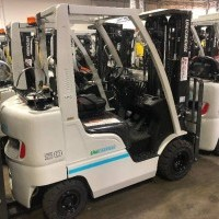 2018 LP Gas Unicarriers AF50 Pneumatic Tire 4 Wheel Sit Down
