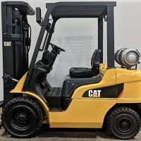 2011 LP Gas Cat 2P5000 Pneumatic Tire 4 Wheel Sit Down