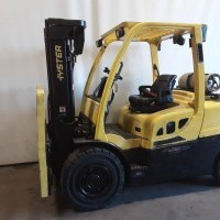 2016 LP Gas Hyster H100FT Pneumatic Tire 4 Wheel Sit Down
