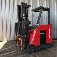 2002 Electric Raymond R30C30TT Electric Stand Up End Control Docker