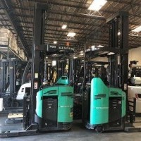 2013 Electric Mitsubishi ESR20N Electric Narrow Aisle Single Reach