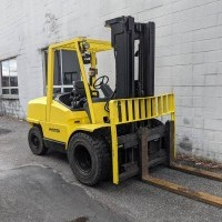 2005 Gasoline Hyster H120XM Pneumatic Tire 4 Wheel Sit Down