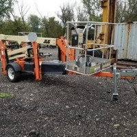 2010 Electric JLG T350 Trailer Mounted
