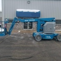 2011 Electric Genie Z34 22N Articulated Boom