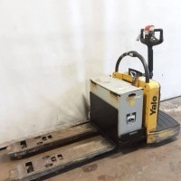 2014 Electric Yale MPE060F Electric Walkie Rider Pallet Jack