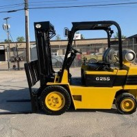 1997 LP Gas Daewoo G25S-2 Pneumatic Tire 4 Wheel Sit Down