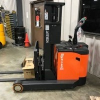 2020 Electric Noblelift PS30RM-142 Electric Walkie Straddle Stacker Reach