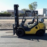2009 LP Gas Hamech G32HT-16 Pneumatic Tire 4 Wheel Sit Down