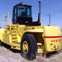 1990 Diesel Hyster H880C Container Handlers Loaded Empty