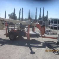 2012 Electric JLG T350 Trailer Mounted