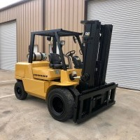 2007 LP Gas Cat GP50K Pneumatic Tire 4 Wheel Sit Down