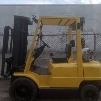 2004 LP Gas Hyster H50XM Pneumatic Tire 4 Wheel Sit Down