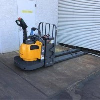 2016 Electric Jungheinrich ECR327 Electric Walkie Rider Pallet Jack