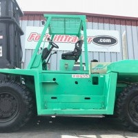 1997 Diesel Mitsubishi FD100 Pneumatic Tire 4 Wheel Sit Down