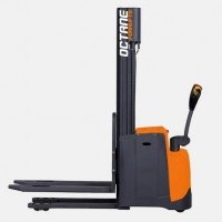2017 Electric Octane WS12 Electric Walkie Straddle Stacker
