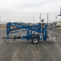 2013 Genie TZ34 20 Trailer Mounted