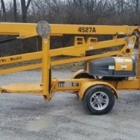 2015 Electric Haulotte Group 4527A Trailer Mounted