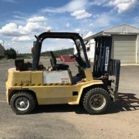 1995 Diesel Hyundai PF35D Pneumatic Tire 4 Wheel Sit Down