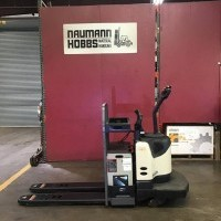 2013 Crown PE4500-60 Electric Walkie Rider Pallet Jack