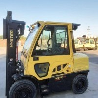 2016 Diesel Hyster H80FT Pneumatic Tire 4 Wheel Sit Down