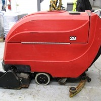 2005 Electric Factory Cat 2800-FC Rider Scrubbers